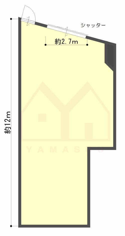 大阪市西淀川区佃2丁目 貸店舗・事務所