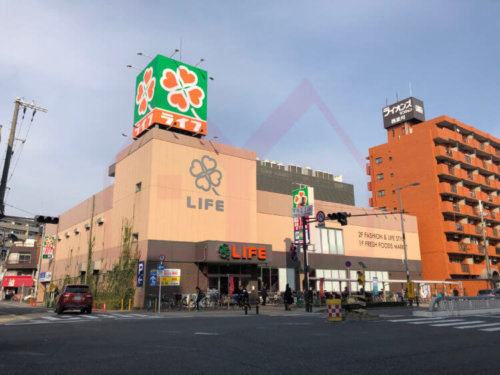 <b>《スーパー》</b><br>ライフ歌島店 1.0km