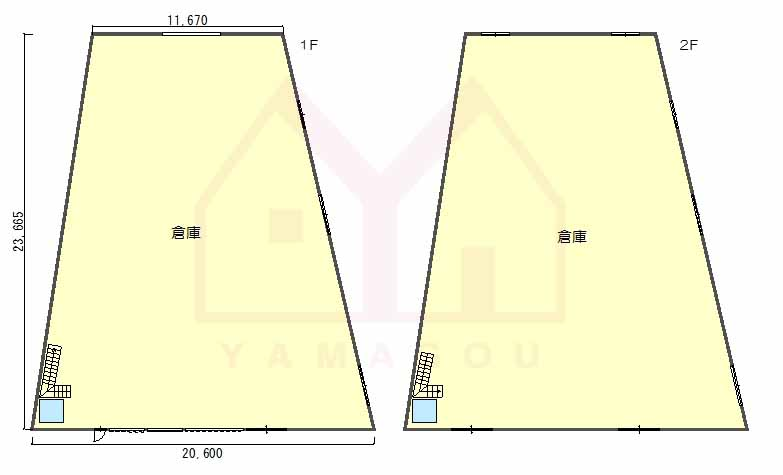 【賃料変更!】西淀川区御幣島2丁目 貸倉庫