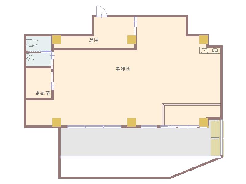 大野3丁目店舗 メゾンラベンダー1F