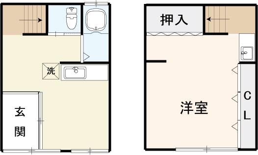 大和田3丁目貸家の間取り画像