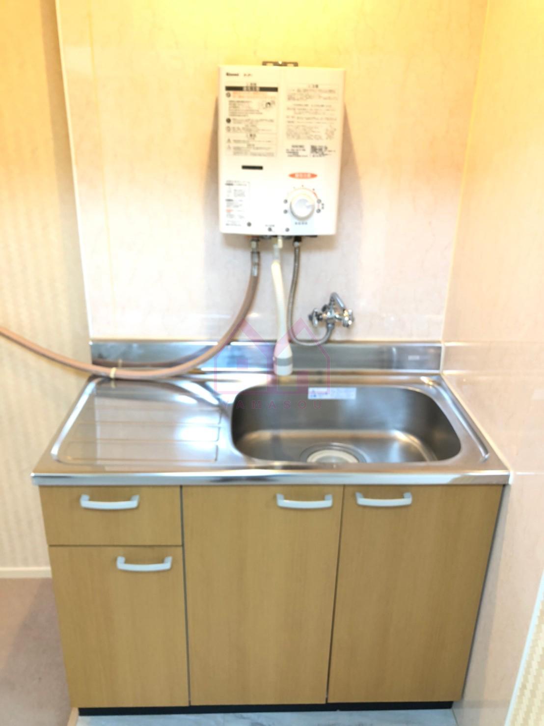 2Fにも洗面設備あり