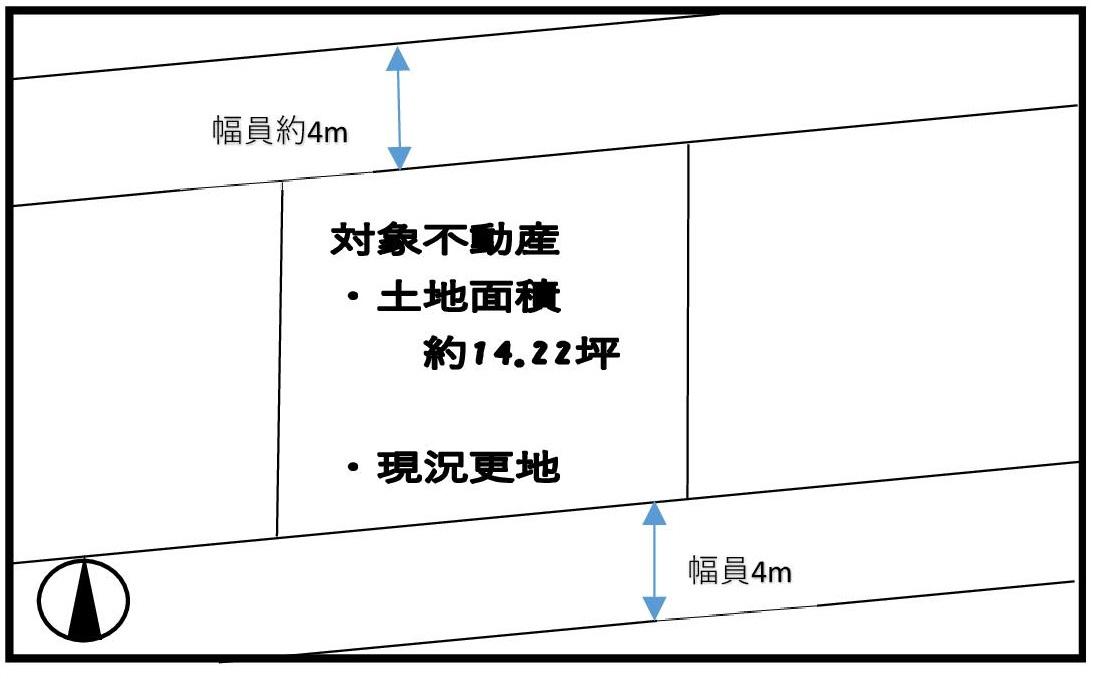 上野芝向ヶ丘町1丁土地